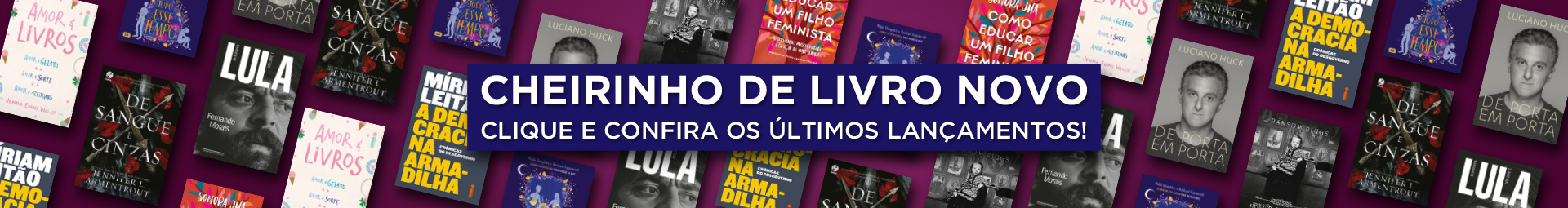 Livros - Banner Desktop